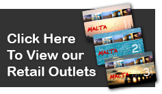 Buy The Malta Pass in Person, Malta Pass Outlets, Purchase the Malta pass from a shop