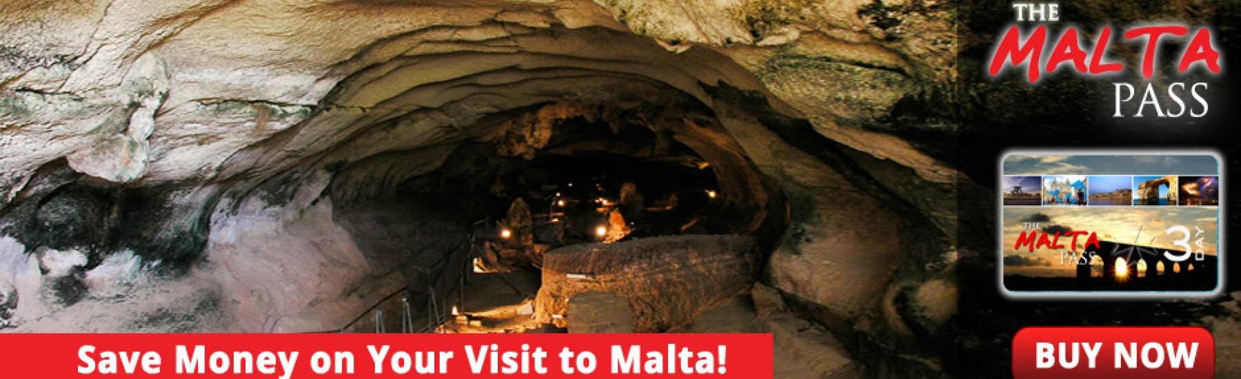 Save Money on holiday in Malta when Visiting Tourist Attractions with the Malta Pass